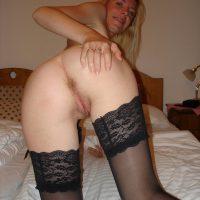 Olivia libertine blonde l'anus en chaleur